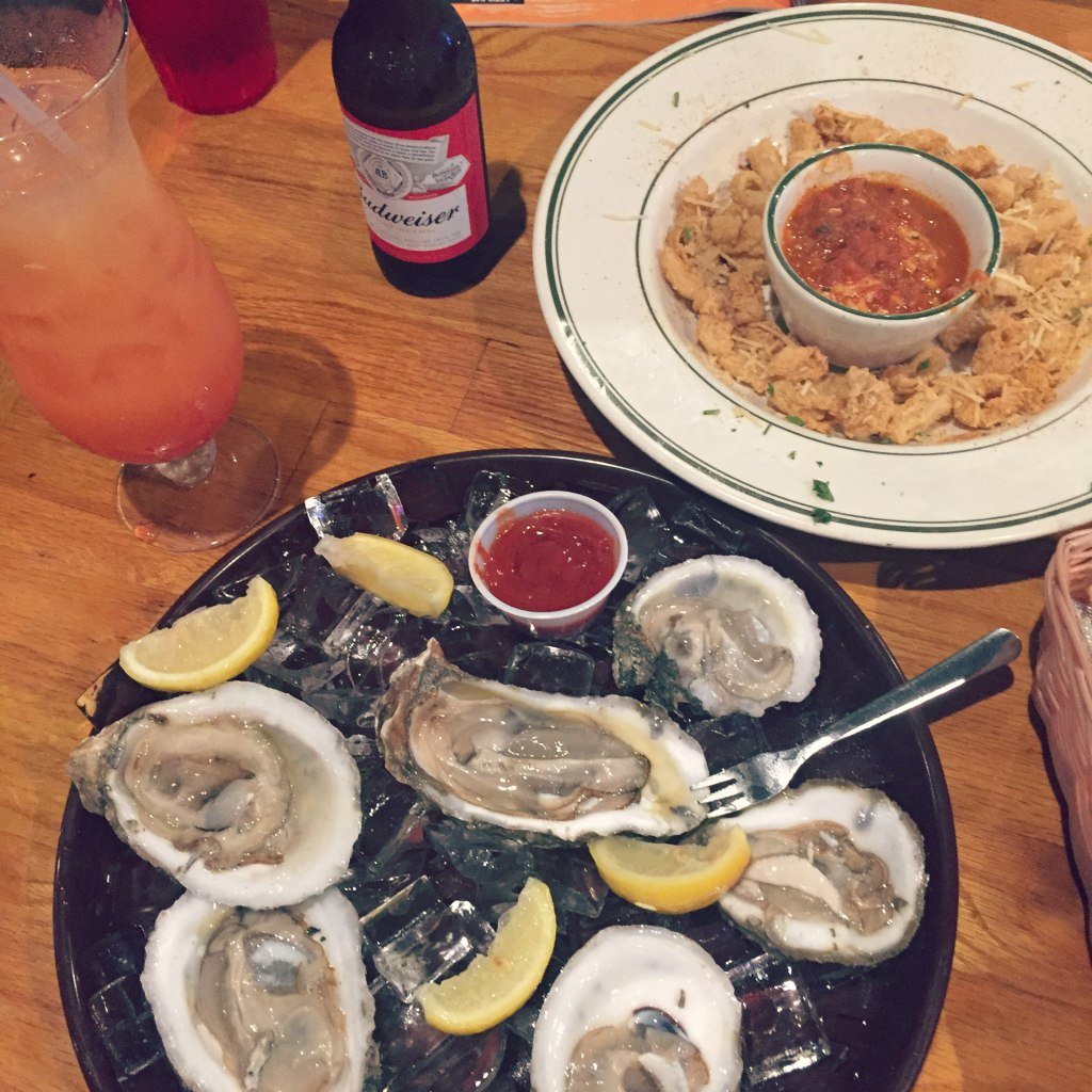 Floyds seafood appetizer