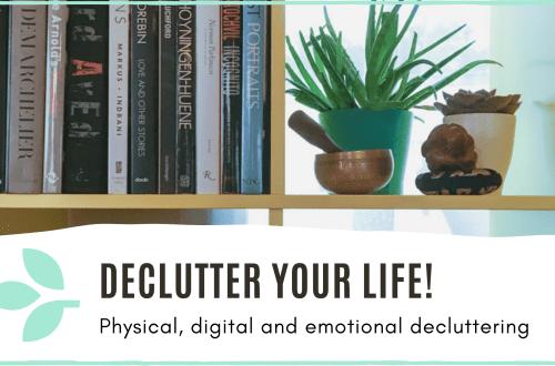 Link to 'Decluttering' blog post