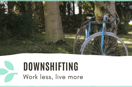 Link to 'Downshifting' Blog post
