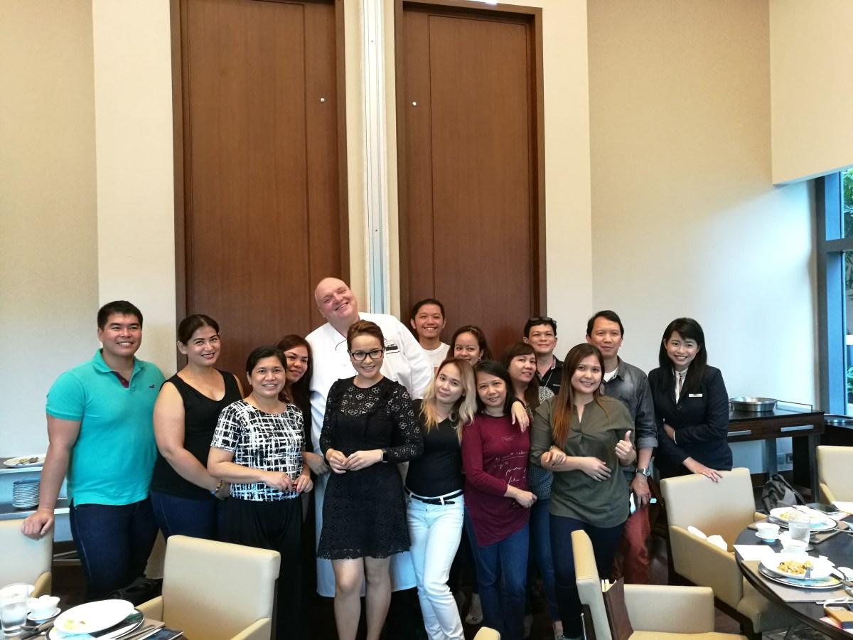 The bloggers at Man Ho Marriott Manila