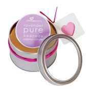 With Love Pure Beeswax Lavender Scented Candle