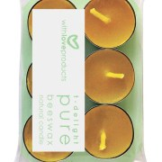 With Love Pure Beeswax Natural T-Delight Candles