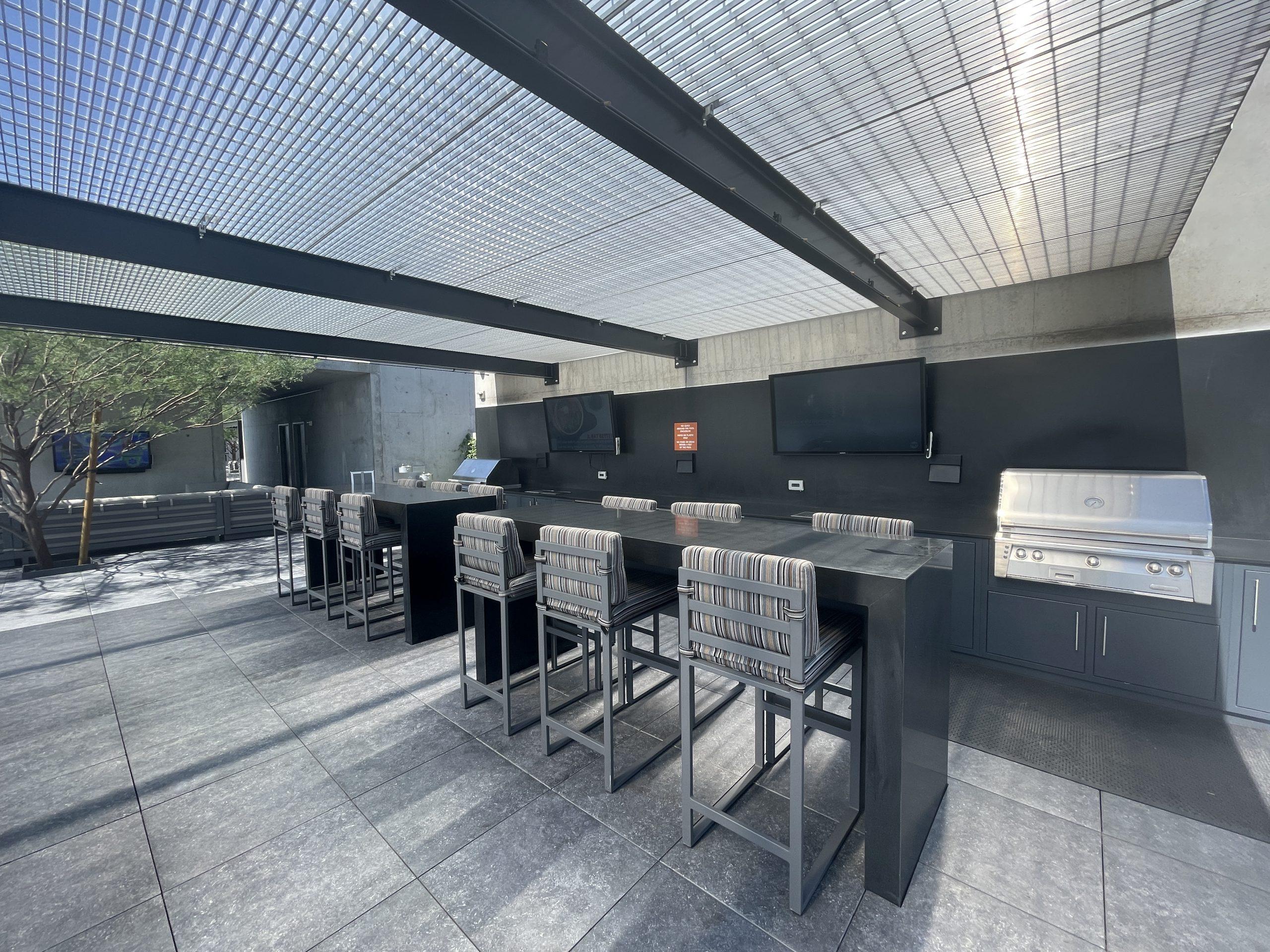 Rooftop amenities