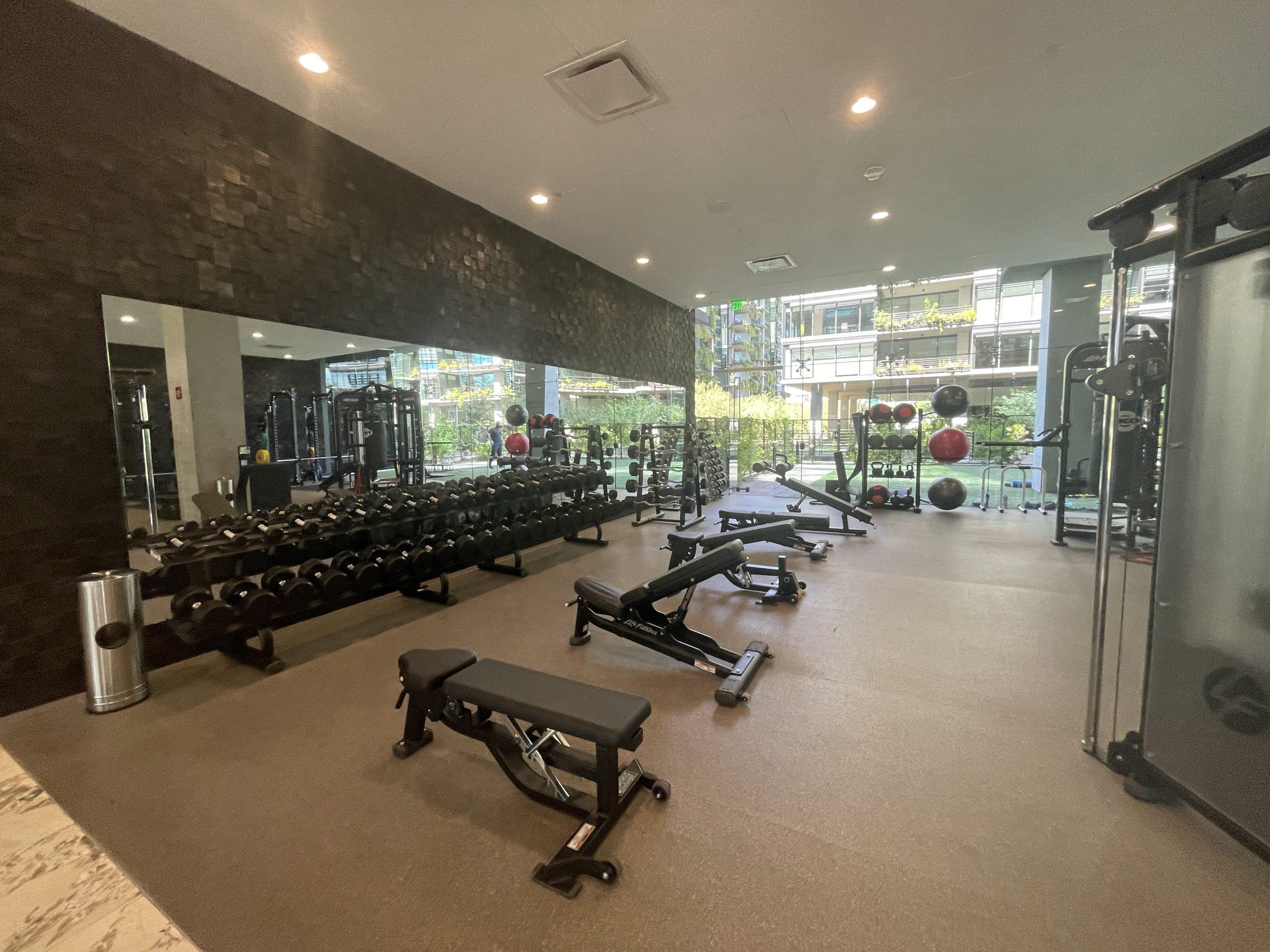Optima Kierland Workout facility