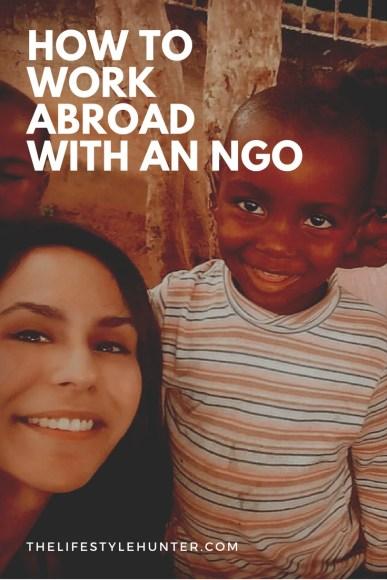 Work abroad - NGO