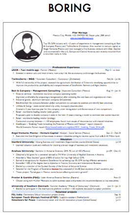 How To Create A Professional Cv That Will Get You The Job