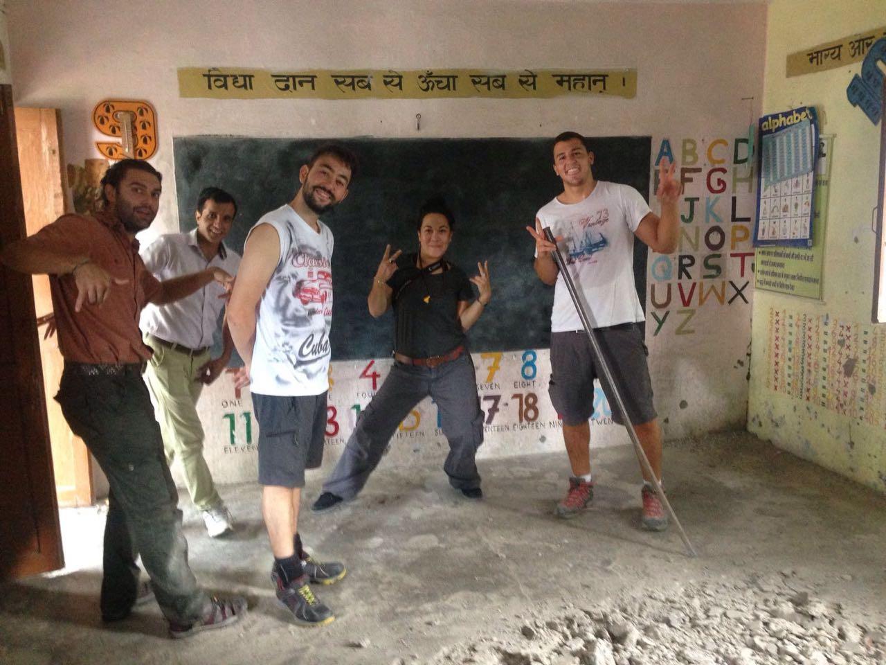 India voluntariado renovación