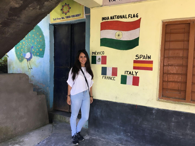 India voluntariado escuela