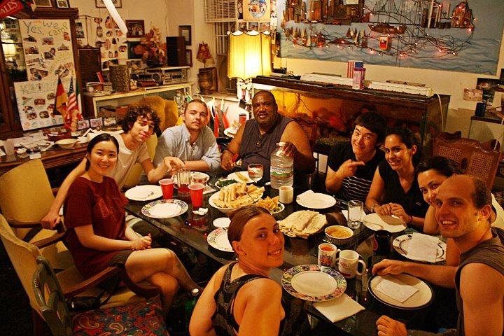 Filadelfia Voluntariado cena