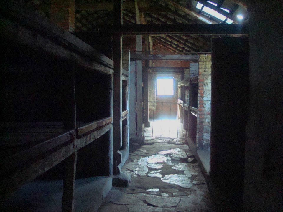 Europe - Poland - Auchwitz-Birkenau - dark rooms