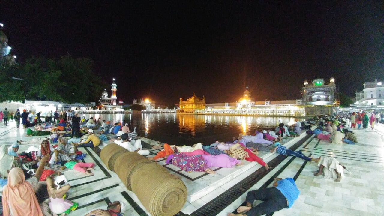 Golden Temple Sleep India