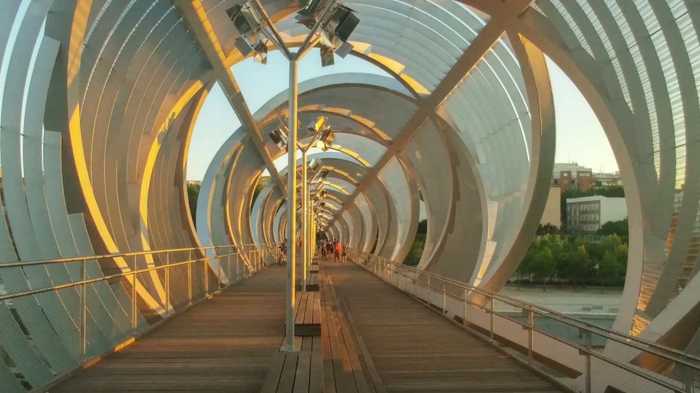 Spain - Madrid - Arganzuela Footbridge
