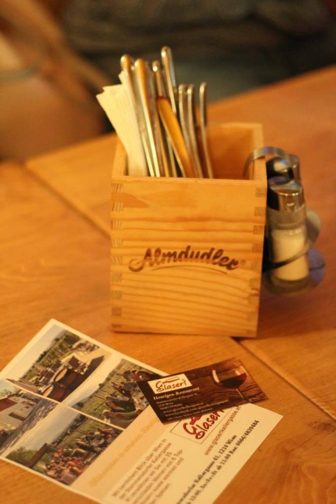 Table - Restaurant - Vienna - Austria