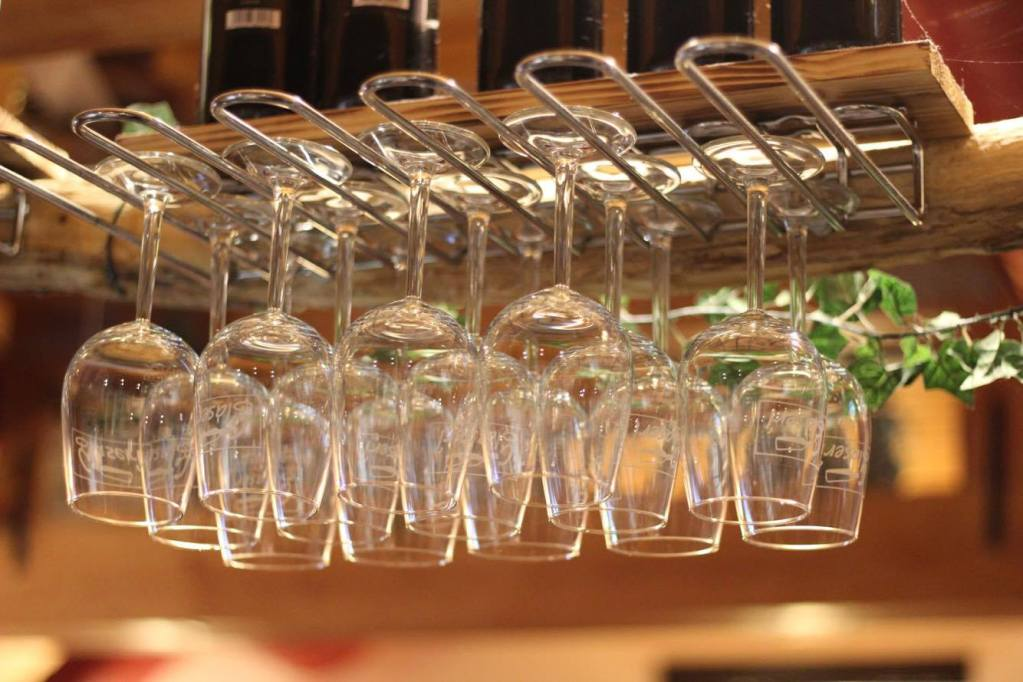 Wine glasses - Austria - Restaurant