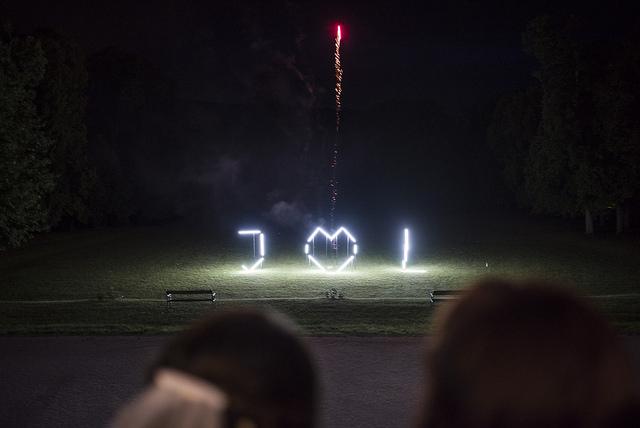 fireworks - wedding - vienna - austria