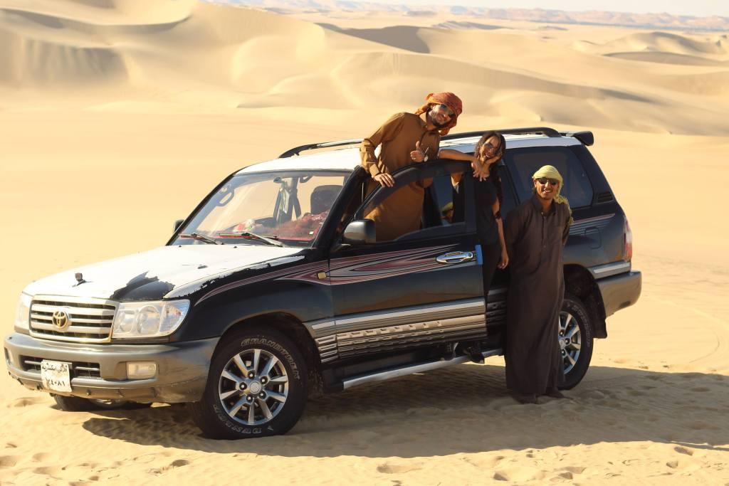 Desert Toyota Jeep Egypt Africa