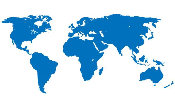 mapa muandial