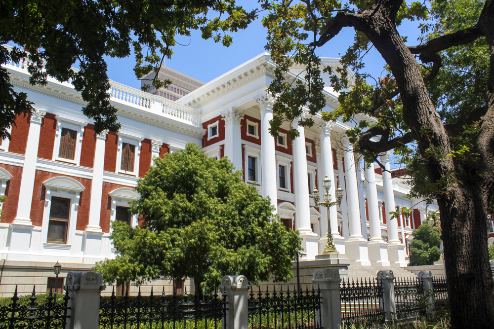 Houses of Parliament - Cape Town - South Africa