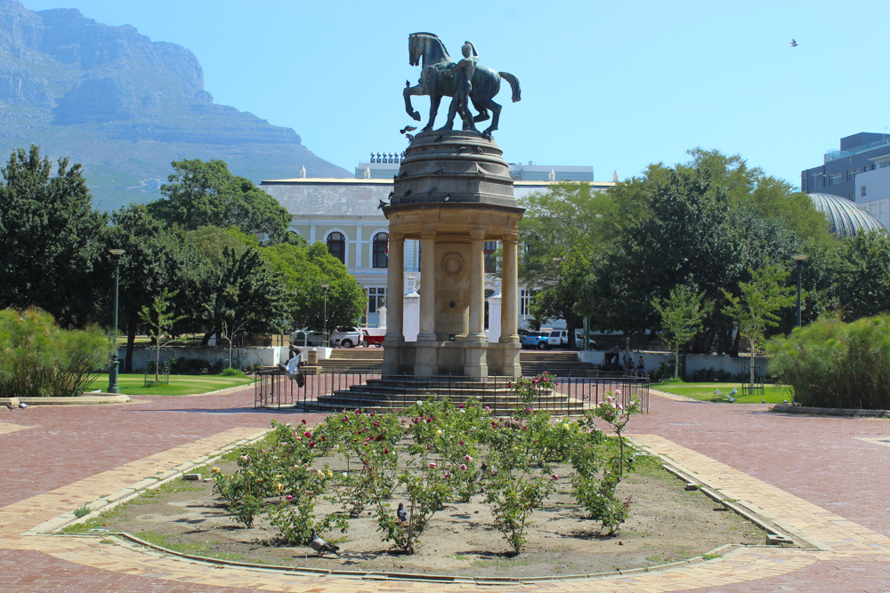 Delville Wood Memorial - Companys Garden - Cape Town - South Africa