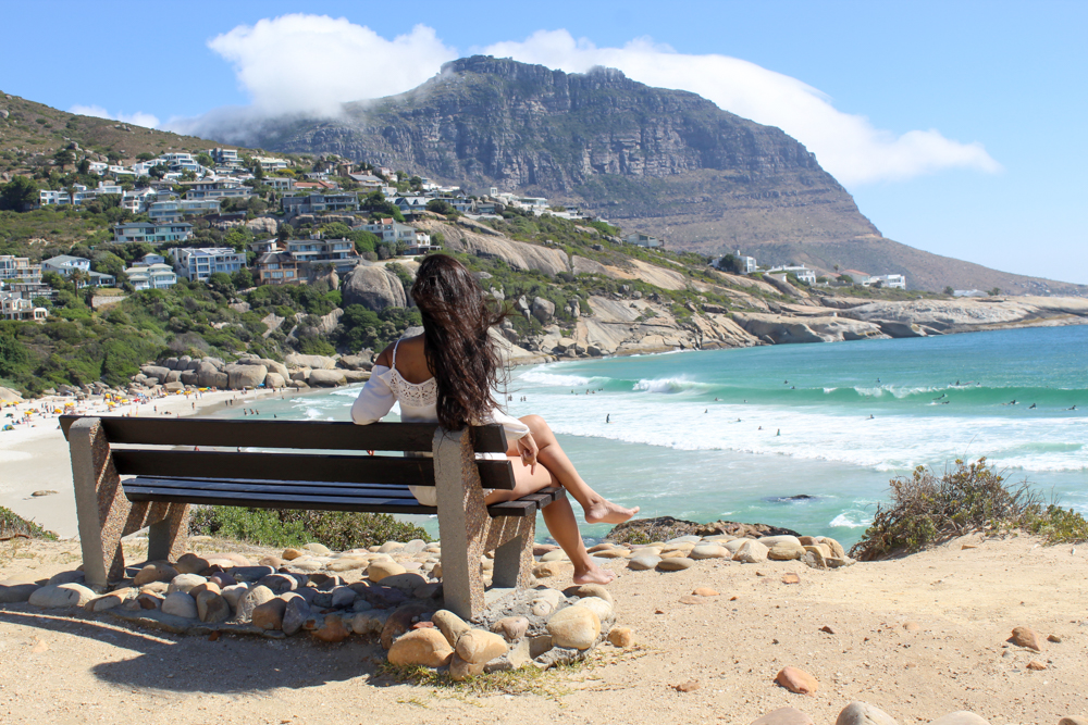 Llandudno Beach: a fancy beach for surfers in Cape Town, South Africa