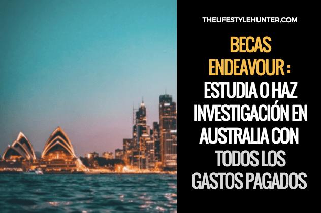 AUSTRALIA- Endeavour awards