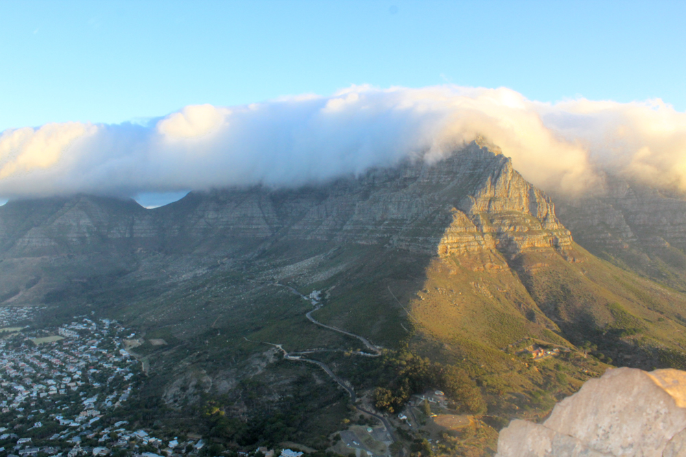 Lions head - table mountain - cape town - south africa