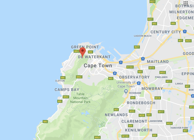 Signal hill cape town map