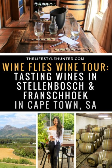 #thelifestylehunter #pilarnoriega #Travel : wine tour, wine flies tours, wine tasting, wineries, winelands, cape town winelands, franschhoek, stellenbosch, kirstenbosch, wine festival, Haute Cabrière, Hoopenburg, Middelvlei Wine Estate, Vergenoegd Low Wine Estate, wine pairing, wine and chocolate pairing, wine and cheese pairing, wine and billtong pairing, lunch, braai, market, tour, summer concerts, signail hill, noon gun, sundowners, sunset, lions head, lion's head, hiking, hike, table mountain, Africa, Cape Town, Groot Constantia, Kristenbosch, travel, valentines day