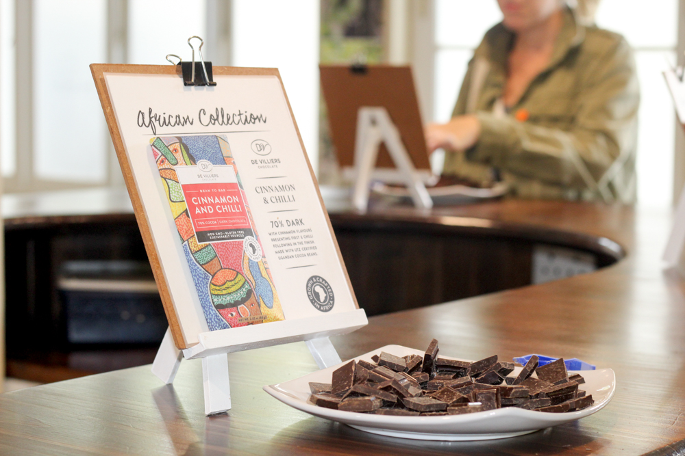 De Villiers Chocolate - Spice Route - Feast Africa - Cape Town - South Africa - foodie
