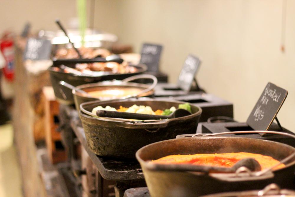 buffet dinner - Aquila Safari - Feast Africa - Cape Town - South Africa - Travel