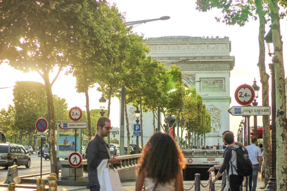 Triumphal Arch - Paris - France - Europe - Travel