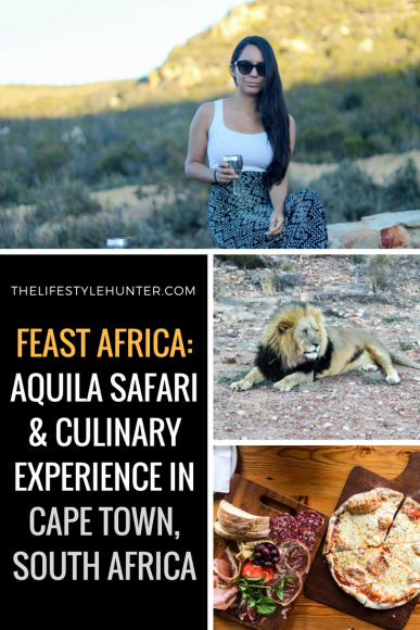 #thelifestylehunter #pilarnoriega The Lifestyle Hunter by Pilar Noriega #Travel : Feast Africa, Franschhoek, Africa, South Africa, Cape Town, aquila safari big 5, lion, zebra, hippo, lioneese, puma, cheetah, animals, wild animals, wilderness, Garden Route, Kruger safari, Sea Point Promenade, Cape Town Hotel, trendy Table Mountain, Devils Peak, Lions Head, Stellensbosh, Hermanus, Cape Point, Groot Constantia