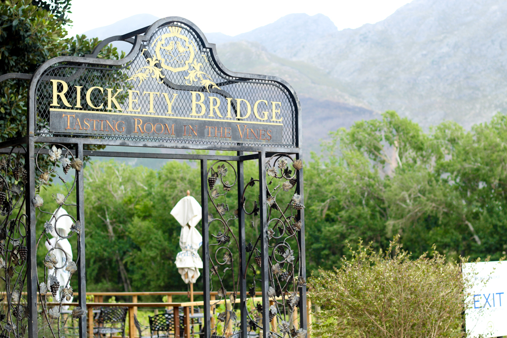 Rickety Bridge Wine Estate - Wine Tour - Franschhoek - Cape Town - South Africa - Travel