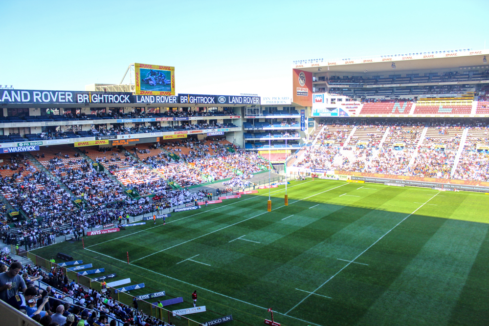 rubgy game - Cape Town - south africa