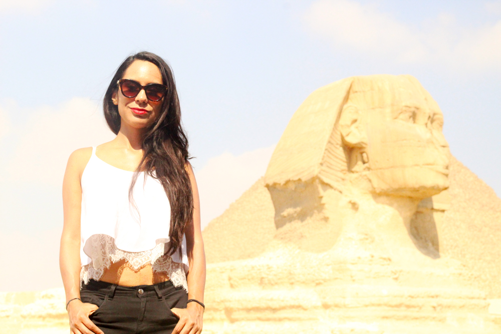Giza Egipto - ESFINGE - workaway