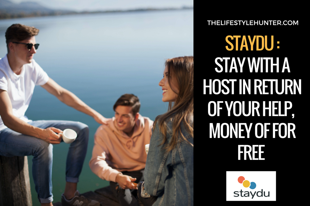 Staydu: stay with a host in return of your help, money or for free
