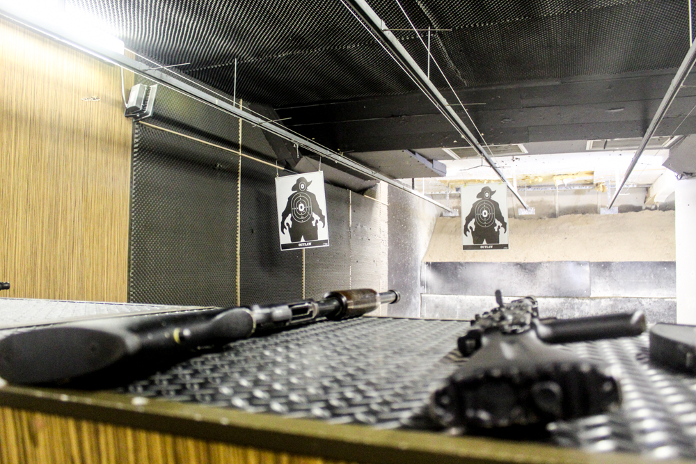 Gun Fun - indoor shooting - Cape Town - South Africa