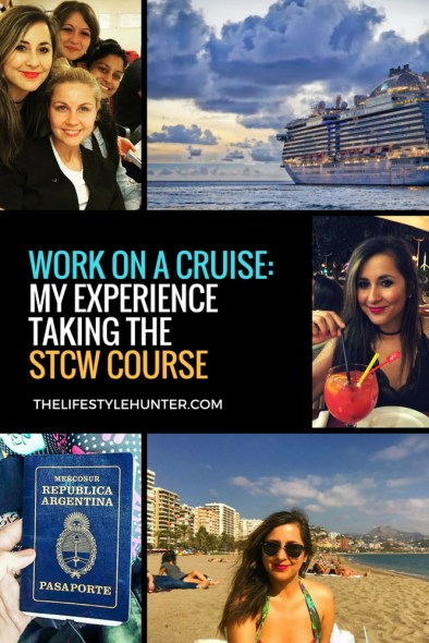 Study abroad - cruise ship STCW