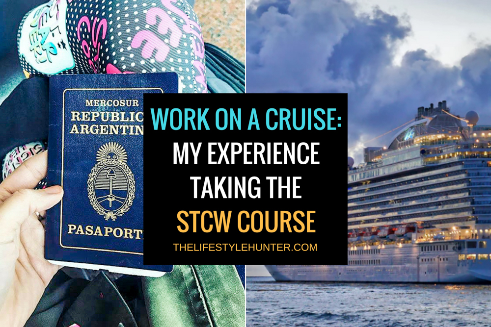 Work on a cruise: my experience taking the STCW course