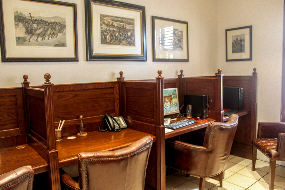 Oyster Box Hotel office - Durban - South Africa