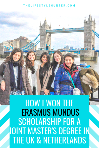 Study - Erasmus Mundus Scholarship - joint masters degree - The UK - The Netherlands