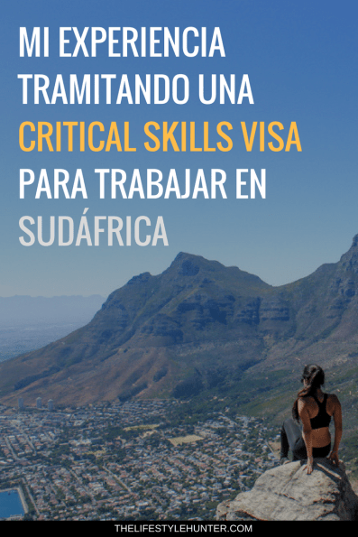 Trabajar - Sudafrica - Critical Skills Visa