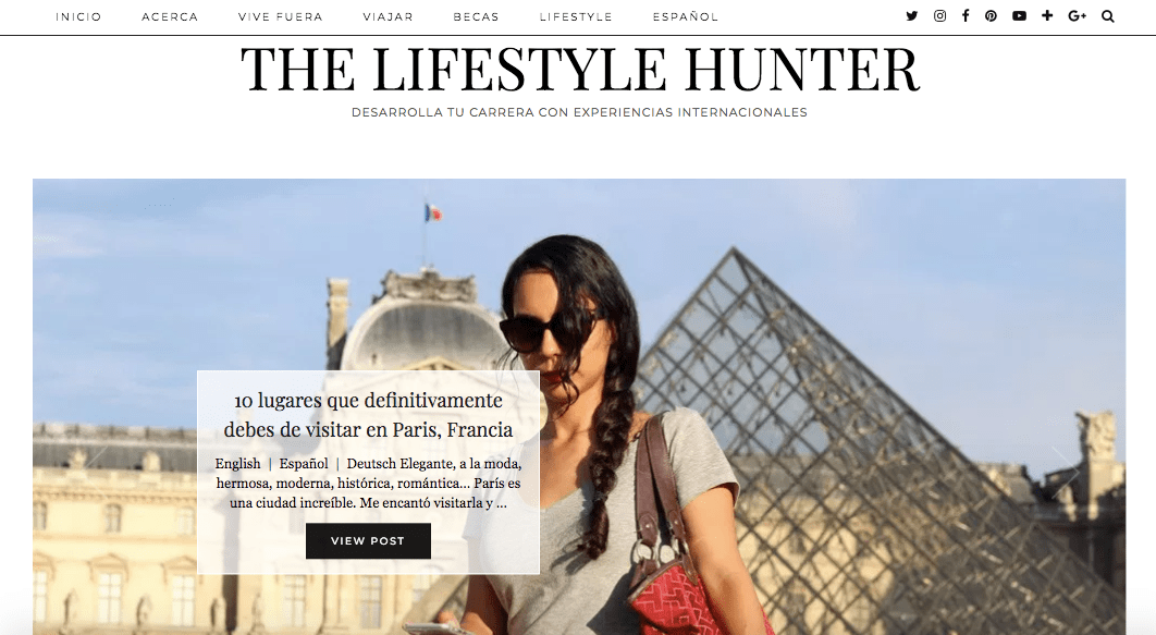 The Lifestyle Hunter blog