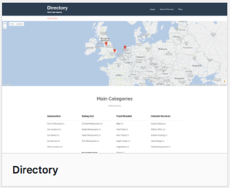 Wordpress Theme - Directory