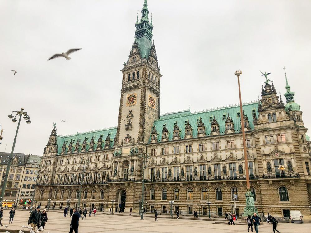 Hamburg - Germany - Europe Rathaus (City Hall)