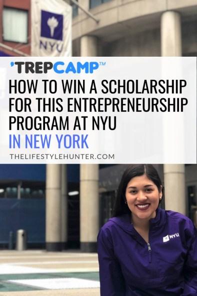 TrepCamp - Scholarship - NYU - New York - United States