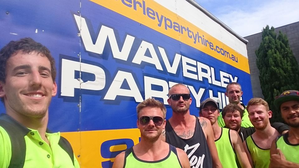 Waverley Party hire Australia