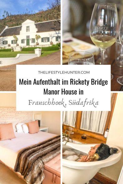 Africa - Suedafrika - Franschhoek - Rickety Bridge