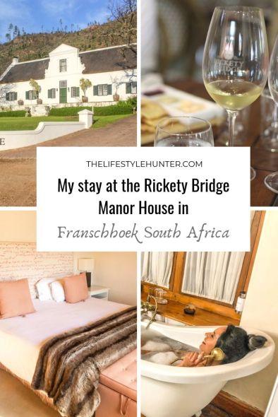 Franschhoek - South Africa - Rickety Bridge