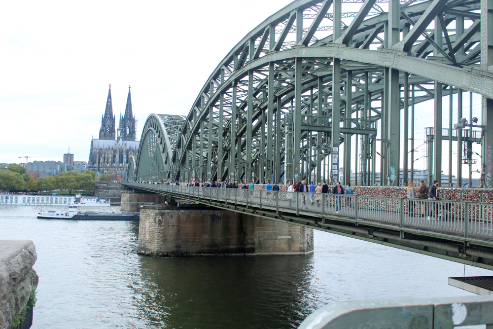 Hohenzollern Bridge (Hohenzollernbrücke) - Cologne - Germany